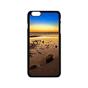 Attractive Sunrise Sky Black Phone Case for Iphone6