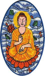 Application Serene Buddha Patch
