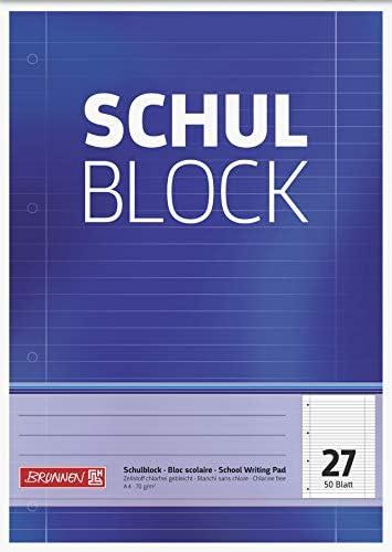 Brunnen 1052527 Schulblock/Notizblock (14 Blöcke)