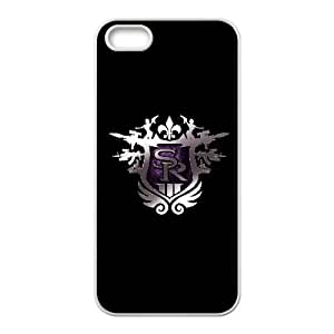Saints Row The Third Emblem Gamex01 Protective Case For iPhone5s Cell Phone Case White