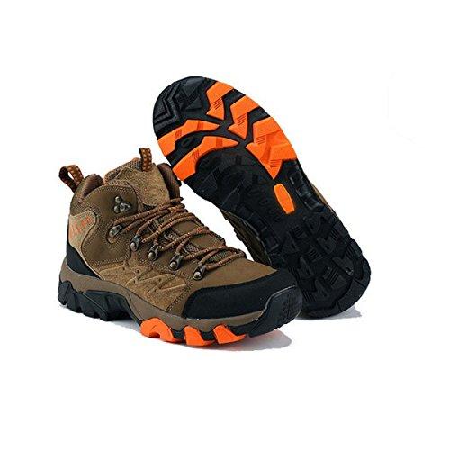Zapatos Para Caminar Los Hombres De Escalada Al Aire Libre De Espesor De Varios Tamaños Multicolor Brown