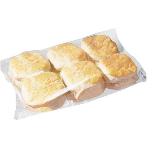 Bridgford Foods Buttermilk Biscuit, 2.25 Ounce -- 72 per - Strawberry Shortcake Butter Cookie