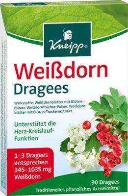 Kneipp Weißdorn Dragees 90St.