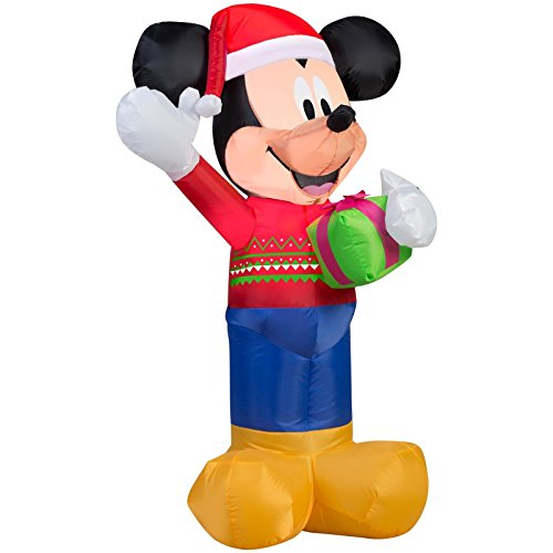 Inflatable Led Lighted Mickey Mouse
