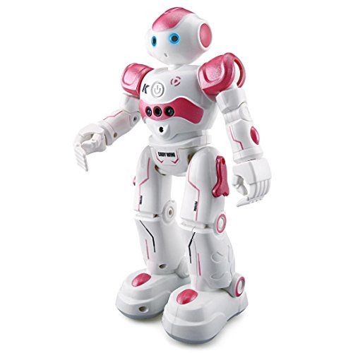 Leegor Intelligent JJRC R2 Gesture Control Programmable Dancing USB RC Robot Multifunction Robot Toy Xmas Gifts Birthday Present (Red) (Ideas Present Christmas Prank)