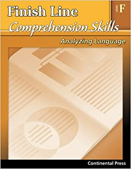 Reading Comprehension Workbook: Finish Line Comprehension