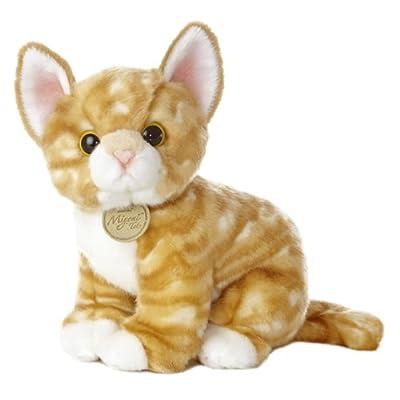 "Aurora - Miyoni - 10"" Orange Tabby Kitten: Toys & Games"