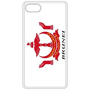Brunei Coat Of Arms Flag Emblem White Apple Iphone 5 Cell Phone Case - Cover