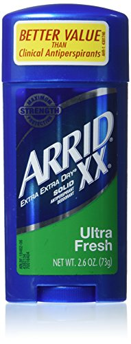 Arrid XX Ultra Fresh Extra Extra Dry Solid Anti-Perspirant Deodorant 2.6 oz (Pack of 6)