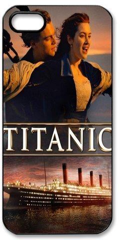 Leonardo Dicaprio-Titanic Hard Case for Iphone 5/5S Caseiphone - Titanic Phone Case Iphone 5