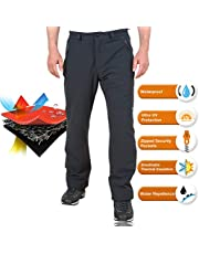 Playoff Outdoor Waterproof Trousers for Men Spring, Summer, Autumn Hiking Trousers - Quick Dry Breathable Stretch Walking Pant - Sports Wear