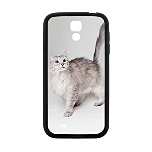 Cat Picture Hight Quality Plastic Case for Samsung Galaxy S4