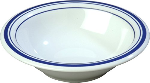 - Carlisle 43037912 Durus Designer Pattern 12-oz. Rimmed Bowl, 7.24