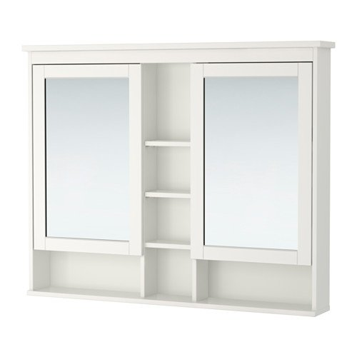 Ikea Mirror cabinet with 2 doors, white 55 1/8x38 5/8 '', 2210.292623.104 by Ikeaa