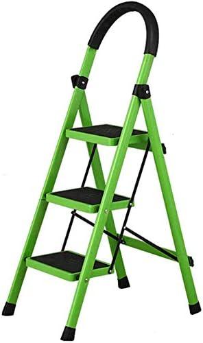 SED Escaleras de tijera multiusos Escalera plegable 3 peldaños Escalera antideslizante Taburete,C: Amazon.es: Bricolaje y herramientas