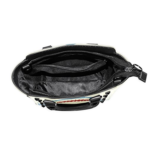 Handle PU TIZORAX Leather Women's Bags Shark Jaws Top Shoulder Handbags xqwqT0p