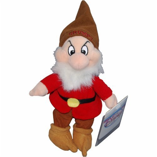 Disney Grumpy - Snow White Dwarf - Mini Bean Bag Plush