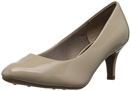 LifeStride Women's Parigi Dress Pump, Tender Taupe Glory, 10 W US B5988S2