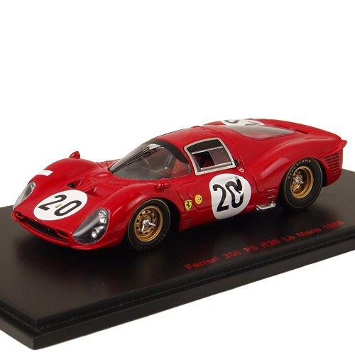 1/43 フェラーリ330P3 1966年ル・マン24時間 ドライバー:L.スカルフィオッティ/M.パークス RL156