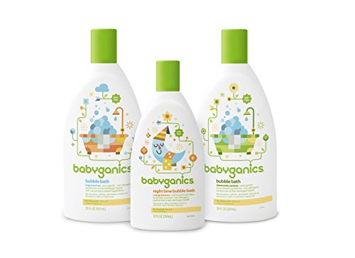 Babyganics Baby Bubble Bath Fragrance Free 20oz Bottle