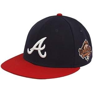 Amazon.com : MLB New Era Atlanta Braves Navy Blue 1995