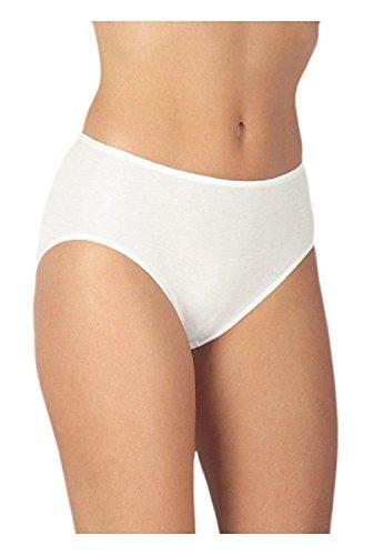 Medima Lingerie Damen-Taillenslip Kaschmir/Seide weiß - Größe XL
