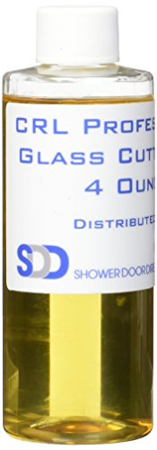 CRL Professional Glass Cutter Oil - 4 Ounce by C.R. Laurence