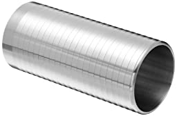 Dixon 14WHRL-R200 Stainless Steel 316L Sanitary Fitting, Weld Long Hose Adapter, 2\