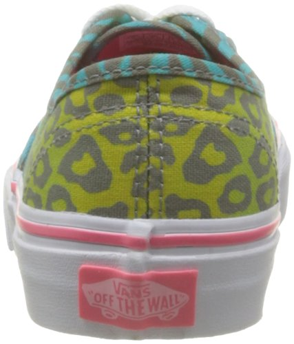 Vans K Authentic, Zapatillas Niño Azul (Animal Multi F)