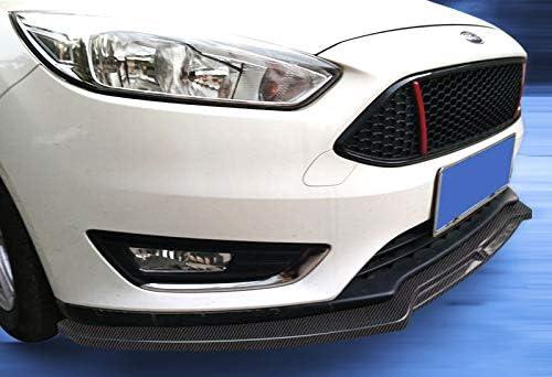 Body Kits EPARTS 3 Pieces Carbon Fiber Style Look Front Bumper Lip ...