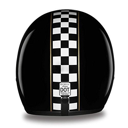D.O.T. Daytona Cruiser- W/Cafe Racer- Daytona Helmets