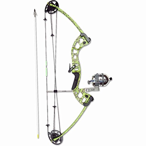 Muzzy Bowfishing Kit Vice Bow/Reel/Arrows/Rest 7905