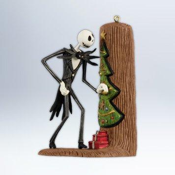 Jack Sneaks A Peek - The Nightmare before Christmas 2012 Hallmark Ornament