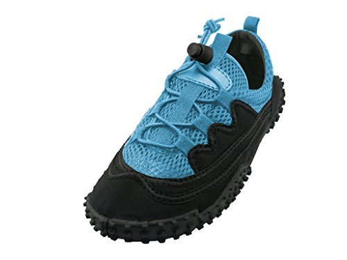 The Wave Childrens Aqua Shoe, 2 M US Little Kid, G1188C-Light Blue