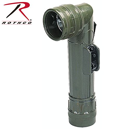 Rothco G.I. Type O.D. D-Cell Flashlights, Olive Drab ()
