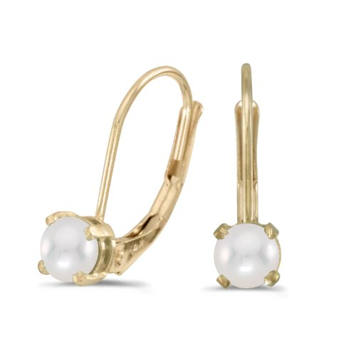14k-yellow-gold-freshwater-cultured-pearl-lever-back-earrings