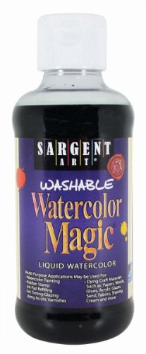 Sargent Art 22-6085 8-Ounce Watercolor Magic, Black ()