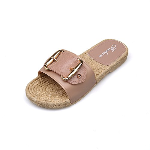 Casa Antiscivolo Bagno Estate Sandali Recreation Fibbie Indoor Donne Spiaggia Cool Pink WHLShoes Pantofole Pantofole RqEvaSw