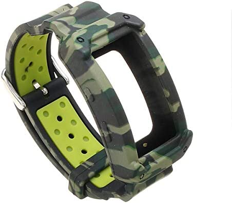 Jewh Silicone Wristband - Watch Bands - Replacement Strap for Samsung Gear Fit 2 - SM-R360/Fit2 Pro R365 Strap Wristband - Samsung Watch Bands (Camo)