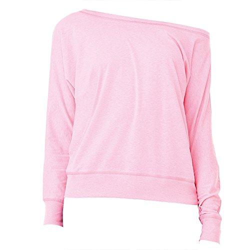 Para Neón Camiseta Canvas Rosa Mujer Bella 0wx4EPFqO