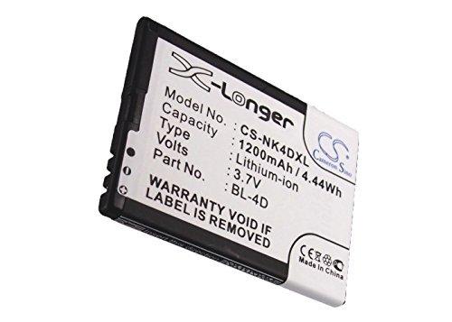 (Cameron Sino 1200mAh Li-ion High-Capacity Replacement Batteries for Nokia N97 Mini, E5, N8, E7, E7-00, T7, E5-00, fits Nokia)