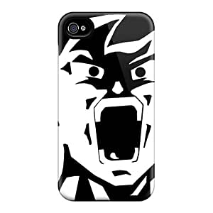 DaMMeke Scratch-free Phone Case For Iphone 4/4s- Retail Packaging - Dbz - Goku by lolosakes