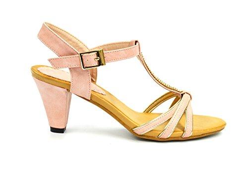 Oh My Shop Women's Heel strap Pink Wa3GQoTnDn