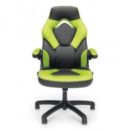 41mANvggZEL - Essentials-Racing-Style-Leather-Gaming-Chair-Ergonomic-Swivel-Computer-Office-or-Gaming-Chair-1pc-Green