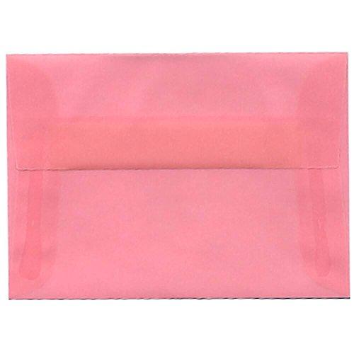 Blush Vellum (JAM Paper 4bar A1 Invitation Envelope - 3 5/8