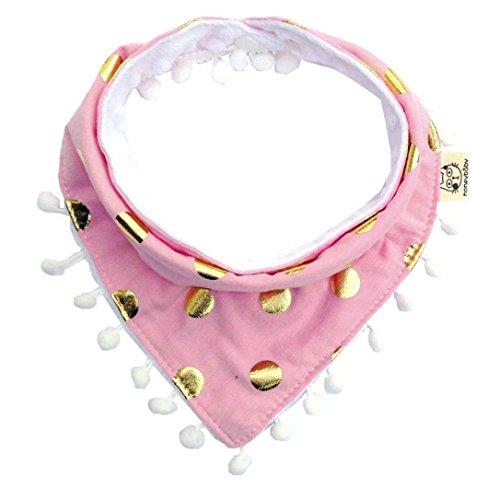 Bbs nouveau-ns nourrissons garons Girls coton impermable bavoirs d'alimentation salive Costume pour 0-2 ans Coton (b)