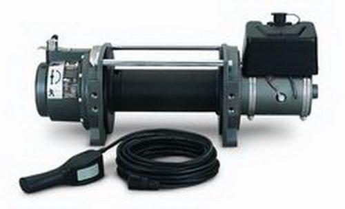 Warn 30282 Series 9 Hydraulic Industrial Winch 9000 lbs./4091 kg 4.8 cu in. Motor Clockwise Series 9 Hydraulic Industrial ()