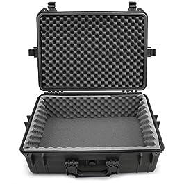 Casematix Waterproof DJ Mixer and Accessories Case Compatible with Zoom LiveTrak L-12 12 Channel Digital Audio Mixer And…