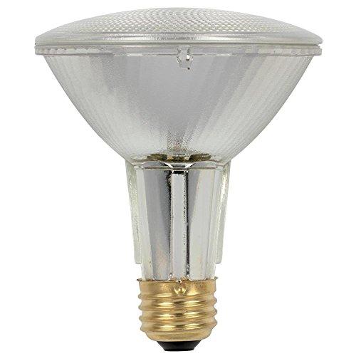 - Westinghouse 3685400 60 Watt PAR30 Long Neck Eco-PAR Plus Halogen Flood Reflector Clear Light Bulb (2-Pack)