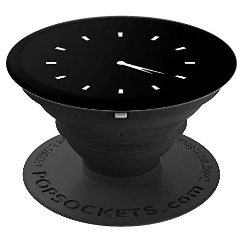 Subtle 4:20 clock time marijuana weed cannabis pot grip - PopSockets Grip and Stand for Phones and Tablets (Marijuana Clock)
